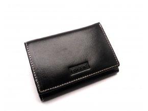 Dámská kožená peněženka 2521/EST BLACK