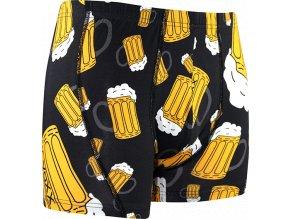 boxerky pivo cerne