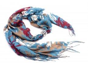 Šátek s ozdobou 3