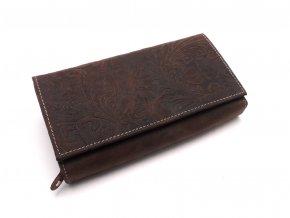 Dámská peněženka s ornamenty D175-33