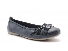Velice pohodlné balerínky 2-22126-28 modré