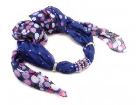 Šátek s ozdobou 8