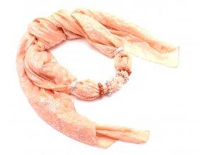 Šátek s ozdobou 9