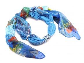 Šátek s ozdobou 11