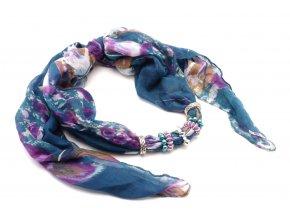 Šátek s ozdobou 13