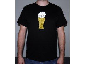 Tričko - Pivo černé