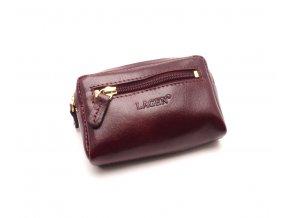 Malá peněženka s klíčenkou K-2011 RED