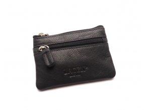 Malá peněženka s klíčenkou M-2 BLACK