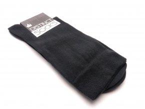 Ponožky distinct šedá - bez vzoru