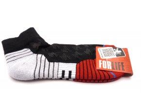 Ponožky Run  - černá