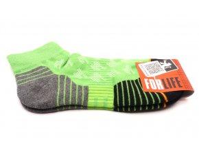 Ponožky Run  - zelená