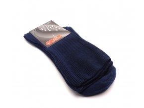 Ponožky modré extra jemný svěr