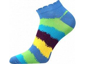 ponozky prouzky modre