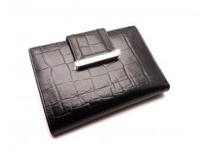 Dámská kožená peněženka 61174 BLACK
