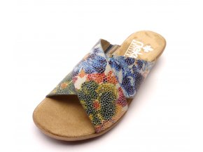 Dámské barevné pantofle 63460-90