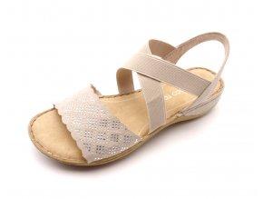 Dámské sandály 2-28503-28 béžové