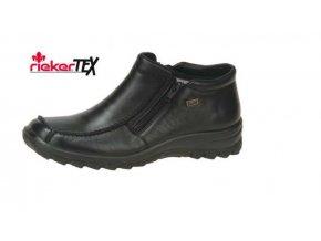 Dámská vyteplená obuv se dvěma zipy l7152-00
