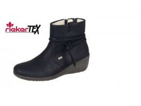 Dámská obuv na klínku s kožíškem Y0351-00