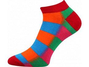 Ponožky Barevné nízké