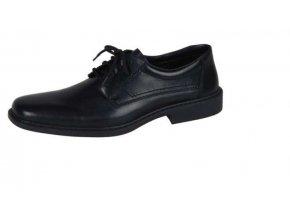Pánská pohodlná černá obuv B0810-00
