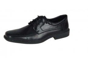 Pánská obuv s ozdobným prošíváním B0812-00