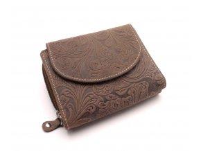 Dámská peněženka s ornamenty D977-55 Dark Grey