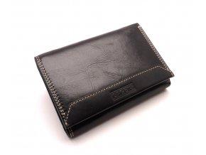 Dámská kožená peněženka LG10/EST BLACK