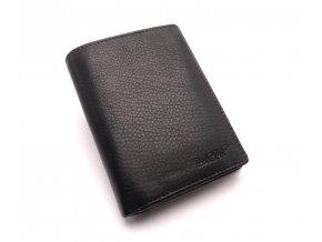 Pánská kožená peněženka W-112 BLACK