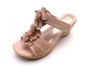 Dámské pantofle 27213-28 ROSE