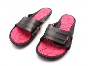 Dámské gumové pantofle ST7100-3 černá