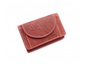 Dámská peněženka s ornamenty D919-38 RED