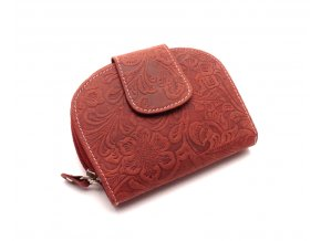 Dámská peněženka s ornamenty D191-38 RED