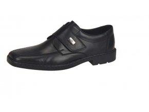 Pánské elegantní boty na suchý zip 18853-00