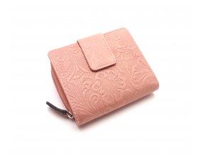 Dámská peněženka s ornamenty D43-22 PINK