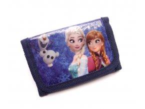 Dětská peněženka PH4950-2 Elsa, Anna, Olaf tmavě modrá