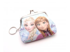 Dětská peněženka s kroužkem na klíče PH4951-2 Elsa a Anna