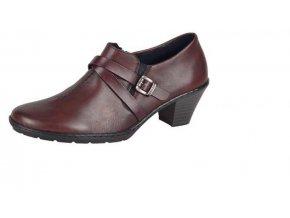 Dámská elegantní zateplená obuv 57154-35
