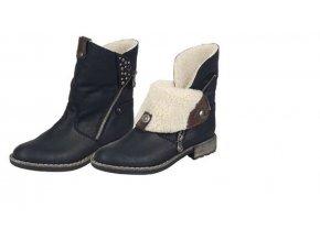 Dámská ohrnovací obuv 74689-00