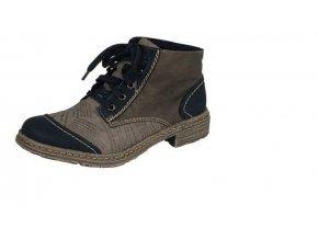 Dámská obuv s potiskem 54243-01