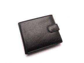Pánská kožená peněženka W-2006 BLACK