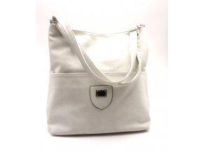 kabelka 11-23 světle šedá