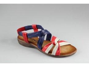 Dámské barevné sandály 22208