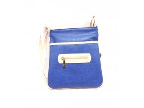 Dámská modrá kabelka 11-30073