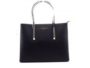 Elegantní dámská kabelka 13-06 tmavě modrá