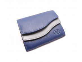 Dámská modro šedá peněženka xu95-65