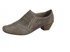 Dámská elegantní perforovaná obuv 41735-62