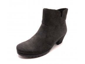 Dámské šedé kotníkové boty Y8073-45