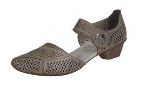 Dámská perforovaná obuv 49776-62
