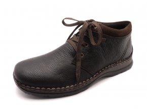 Pánská módní obuv s kožíškem 05346-25
