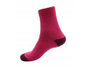 Ponožky Televizorky Magenta